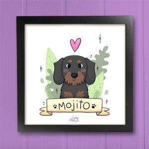 Ilustración Personalizada Mascotas